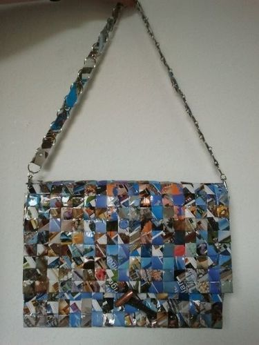 Makerist - Upcycling- Papiertasche - DIY-Projekte - 3