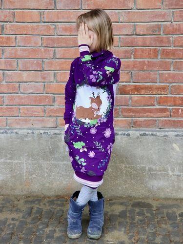 Makerist - Nadal Hoodiekleid kids von PiexSu - Nähprojekte - 1
