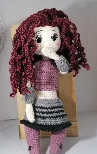 Makerist - Puppe Lilly mit vielen Extras und Details - 1
