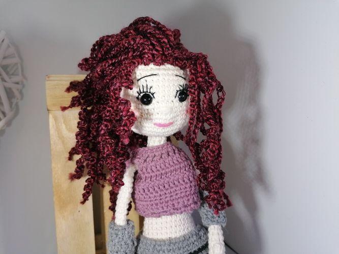 Makerist - Puppe Lilly mit vielen Extras und Details - Häkelprojekte - 2