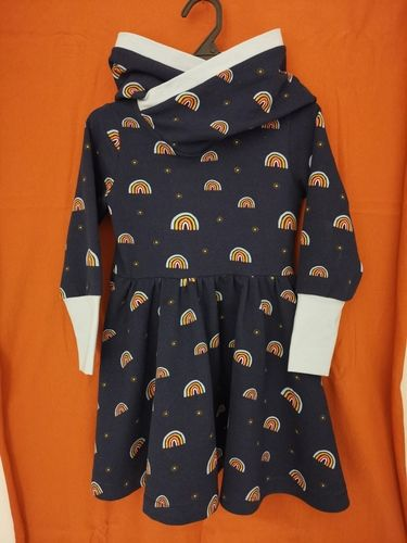Makerist - Kuschelkleid aus French Terry für das Nichtenkind - Nähprojekte - 1