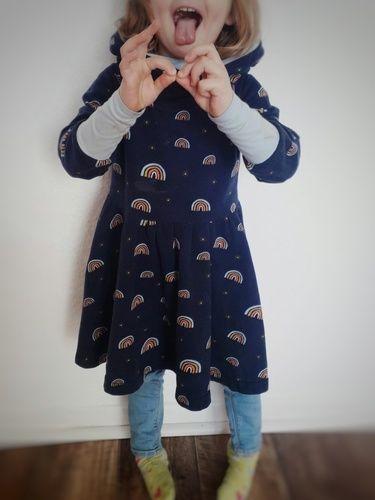 Makerist - Kuschelkleid aus French Terry für das Nichtenkind - Nähprojekte - 2