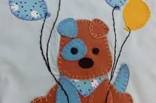 Makerist - Applikation auf einer selbstgenähten Kinderschürze - 1