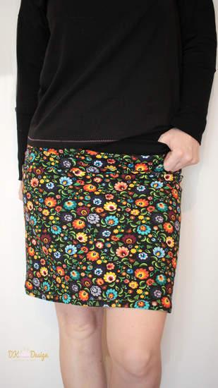 Ladies Basic Skirt aus French Terry