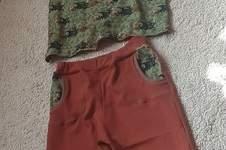 Makerist - Sommershirt und kurze Hose Gr. 140-146 - 1
