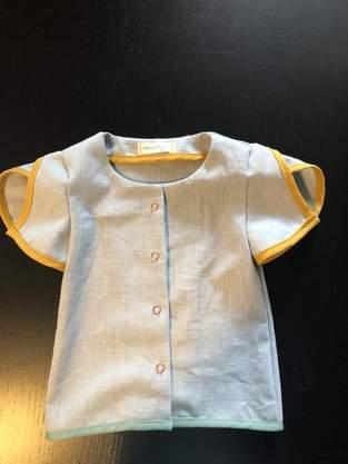 Makerist - Bluse Roby mit Schrägband Saum  - 1