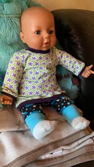 Puppenkleidchen für Emma