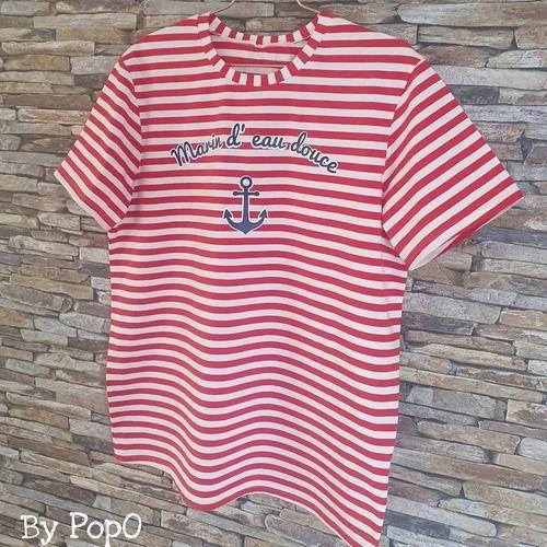 Makerist - Tee shirt enfant Kopain de Melle Malabar & Viny DIY  - Créations de couture - 3