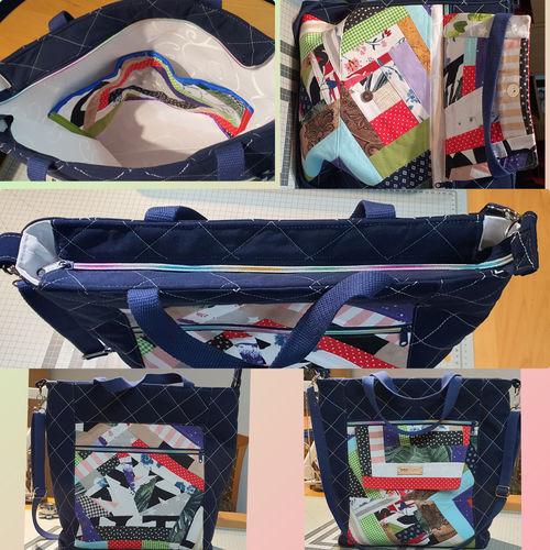 Makerist - Große Crossbag mit Patchwork  - Nähprojekte - 1