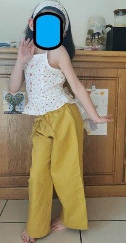 Makerist - Pantalon Kaylinn et Top Orchidée - Créations de couture - 1
