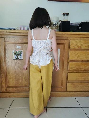 Makerist - Pantalon Kaylinn et Top Orchidée - Créations de couture - 2
