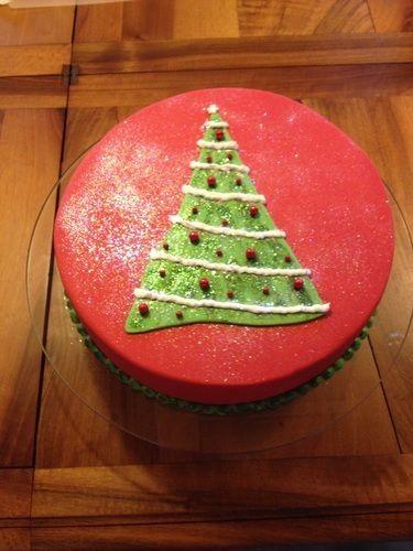 Makerist - Weihnachtstorte - Torten, Cake Pops und Cupcakes - 1