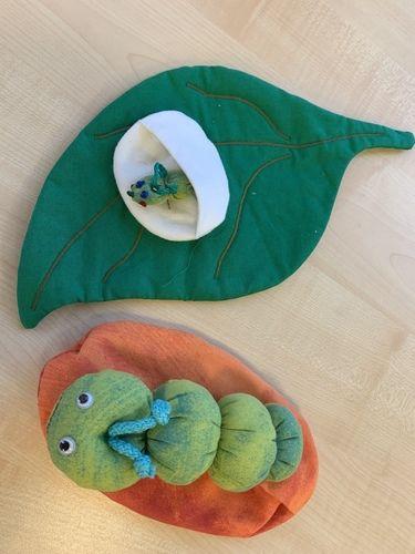 Makerist - Die kleine Raupe Nimmersatt  - DIY für Kinder - 1