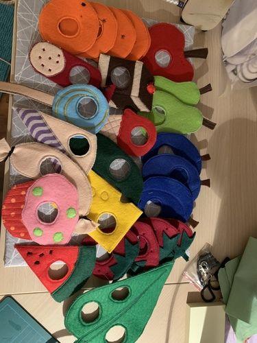 Makerist - Die kleine Raupe Nimmersatt das Essen  - DIY für Kinder - 1