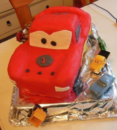 Makerist - Cars-kuchen - Torten, Cake Pops und Cupcakes - 1