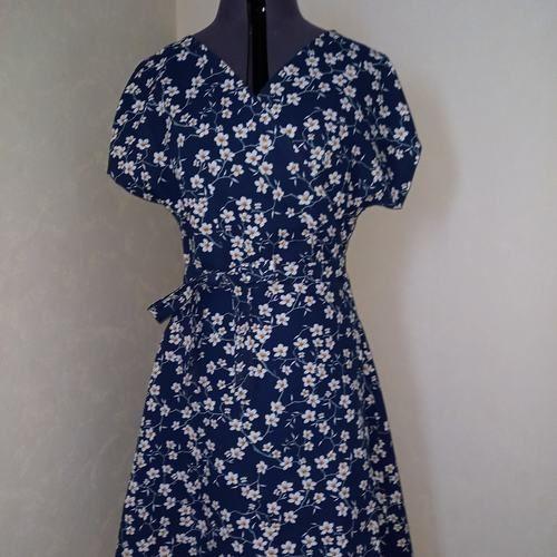 Makerist - Robe plume fleurs d'amandier - Créations de couture - 1