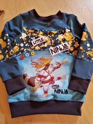 Mini me in 104 mit dem ninja charly