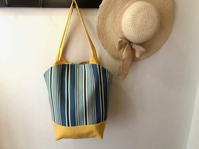 Makerist - Round Top Tote - Sewing Showcase - 1