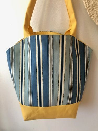 Makerist - Round Top Tote - Sewing Showcase - 2