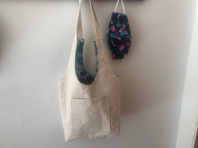 Makerist - Reversible Tote  - Sewing Showcase - 2