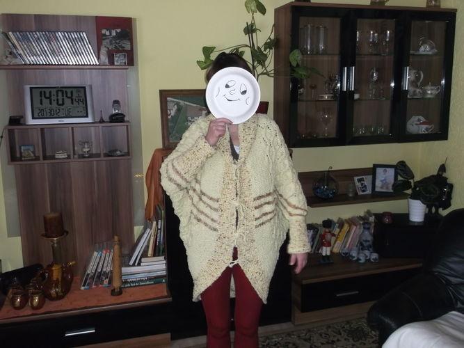 Makerist - Einen Monat hat dieser Cardigan gedauert, und ist nun mal endlich was für mich ! - Strickprojekte - 1