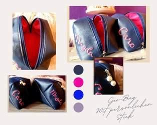 Makerist - Geo - Bag von Pattydoo in Kunstleder mit Stick - 1