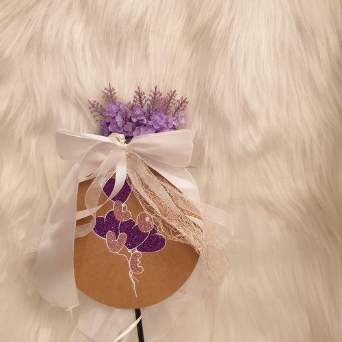 Makerist - Loveballons zum Hochzeitstag auf Holz gepresstt - Textilgestaltung - 1