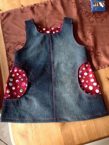 Makerist - Kinderkleid-aus alt mach neu!!! - Nähprojekte - 1