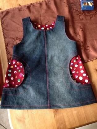 Makerist - Kinderkleid-aus alt mach neu!!! - 1