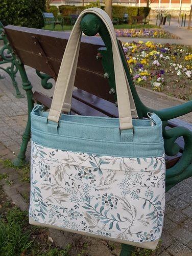 Makerist - BAG 2.0 FRÜHLINGSLIEBE - Nähprojekte - 1
