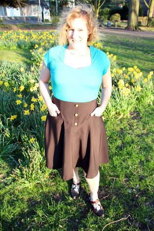 Hosenrock Eliza von Purpurnaht