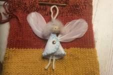 Makerist - Engel zum Anhängen aus Filz, Jahresengel - 1
