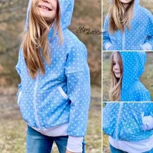 Kids Sweater Jacket von Jessy Sewing