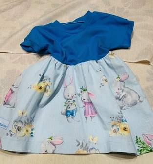 Makerist - TUNIKA PEPITA GR. 68 - 158 aus Jersey-Baumwolle für meine Enkelin - 1