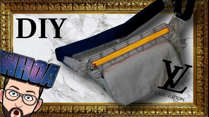 Makerist - DIY / TUTO : Slingbag LV style - Autres créations - 1