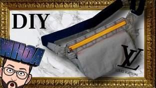 Makerist - DIY / TUTO : Slingbag LV style - 1
