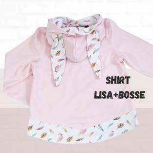 Makerist - Puzzle-Shirt Lisa + Bosse aus Jersey für Kinder - unisex - 1