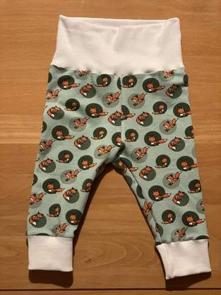 Makerist - Baby Hose Leggings H#5 Handmade with Eva Baby, Baumwollsweat - 1