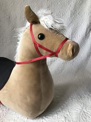 Makerist - Reittier Pferd aus Baumwollsamt - 1