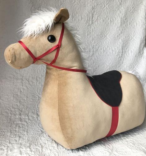 Makerist - Reittier Pferd aus Baumwollsamt - Nähprojekte - 2