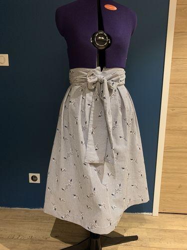 Makerist - Jupe midi 60's - Créations de couture - 1
