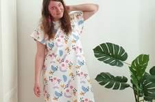 Makerist - Kleid Laisa mit eigenem Stoff-Design - 1