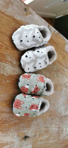 Makerist - Chaussons bebes - Créations de couture - 1