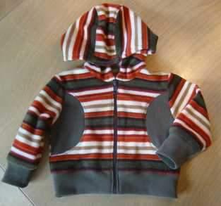 Makerist - Fleecejäckchen fürs Baby  - 1