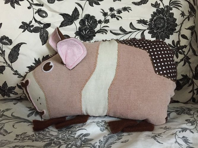 Makerist - Schmittchen das Meerschweinchen - Nähprojekte - 1