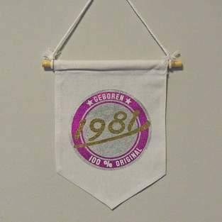 Makerist - Geburtstagswimpel  - 1