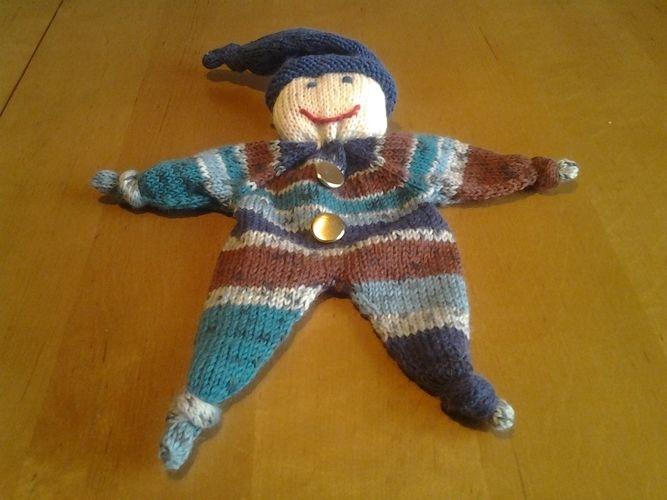 Makerist - kleine Püppchen zum knuddeln für meine Enkelkinder - Strickprojekte - 2