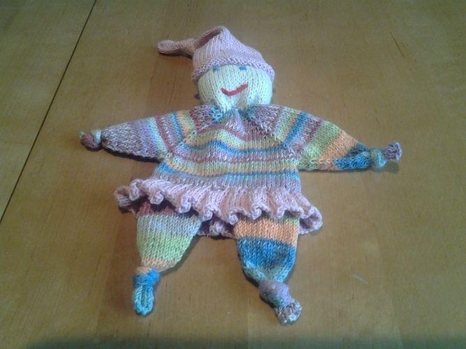 Makerist - kleine Püppchen zum knuddeln für meine Enkelkinder - Strickprojekte - 3