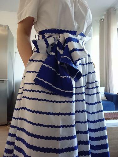 Makerist - Jupe l'élégante en Wax - Créations de couture - 1