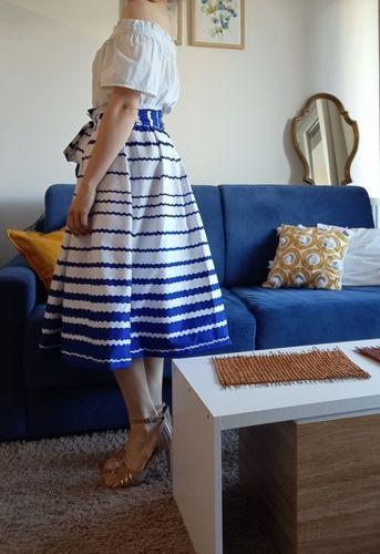Makerist - Jupe l'élégante en Wax - Créations de couture - 2